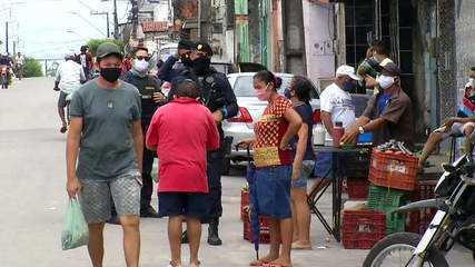 Ceará registra 1.114 mortes por coronavírus e 16.692 casos