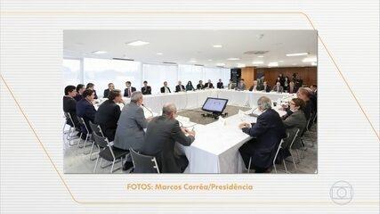 Procuradores, investigadores e a defesa de Moro assistem ao vídeo da reunião ministerial