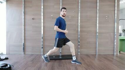Minuto Esporte RPC: treino em três partes para braços, pernas e abdômen