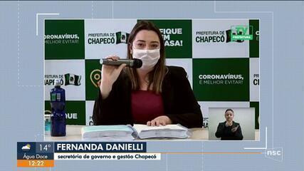 Chapecó deve publicar relatório com ações de combate ao coronavírus