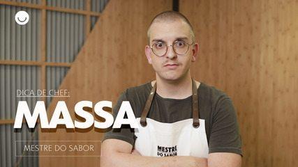 'Mestre do Sabor': chef dá dica para massa perfeita