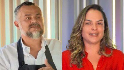 Francisco Pinheiro e Mel Freitas representam o Ceará no Mestre do Sabor
