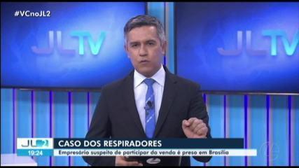 PF prende empresário por participação na venda de respiradores defeituosos ao Pará