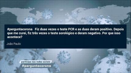 Teste PCR tem resultado mais confiável do que o teste sorológico