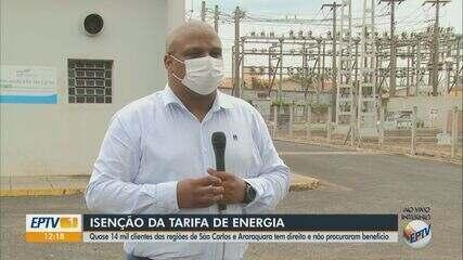 Quase 14 mil pessoas da região de Araraquara não procuraram a isenção da tarifa de energia