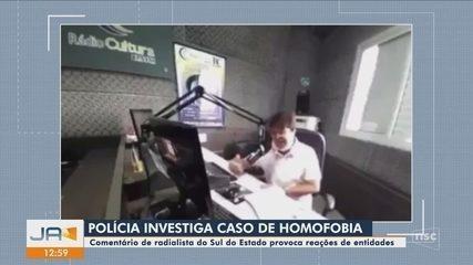 Caso de homofobia por radialista é investigado em Orleans