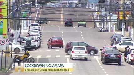 Jornal Hoje: Governo do AP decreta lockdown em todo o estado; Macapá terá rodízio de veículos