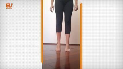 Exercícios com as pontas dos pés para trabalhar mobilidade e força