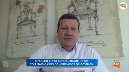 Prefeito de Chapecó fala sobre ações de combate ao coronavírus na região