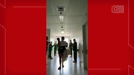 Bebê prematuro se recupera da Covid-19 após 13 dias internado em hospital de Sobral