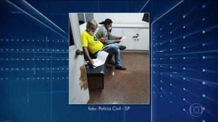Polícia de São Paulo prende dois homens que ofenderam o ministro Alexandre de Moraes