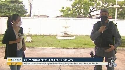 Polícia Militar detalha como funcionarão as ações de fiscalização do 'lockdown' em Macapá