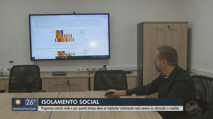 Programa calcula onde e por quanto tempo deve se implantar o isolamento social