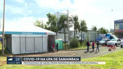 Profissionais de saúde denunciam condições de trabalho na UPA de Samambaia