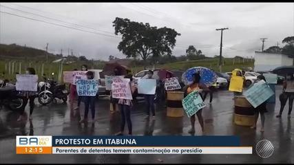 Familiares de presos no Conjunto Penal em Itabuna temem contaminação dos detentos