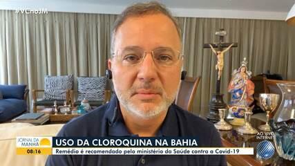 Secretário estadual da saúde fala sobre ações de combate ao coronavírus