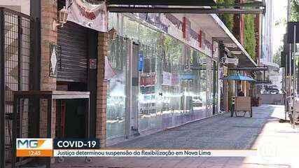Justiça manda prefeitura de Nova Lima retroceder no relaxamento das medidas de isolamento