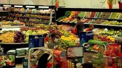 Supermercados contratam funcionários e registram crescimento no faturamento