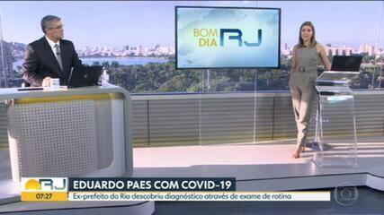 Ex-prefeito Eduardo Paes está com coronavírus