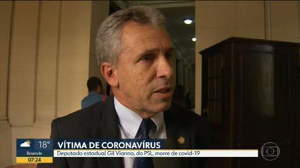 Deputado estadual Gil Vianna morre de Covid-19