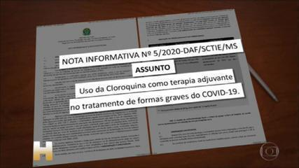 Ministério divulga protocolo que libera no SUS uso de cloroquina até em casos leves
