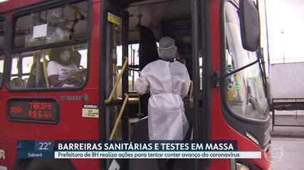 Prefeitura de BH realiza ações para tentar conter avanço do coronavírus