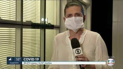 O estado atinge a marca de 30 mil doentes de Covid.
