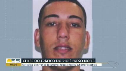 Chefe do tráfico do Rio de Janeiro é preso em Vila Velha