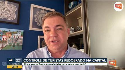 Prefeitura de Florianópolis fala sobre reforço das medidas de enfrentamento à Covid-19