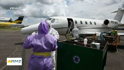 Com avanço da Covid-19 na Amazônia, indígenas são levados de avião para UTIs
