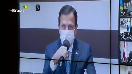 João Doria pede a Bolsonaro que ajuda aos estados seja paga até 31 de maio