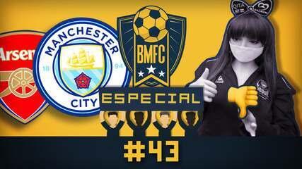 """BMFC Especial #43: Camisas """"Agostinho Carrara"""" de clubes ingleses e multa para coreanos"""