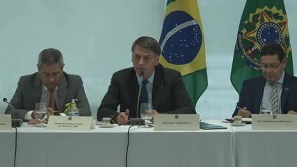 'Já tentei trocar gente da segurança nossa no Rio e não consegui', diz Bolsonaro