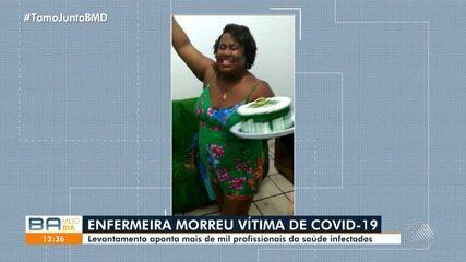 Conheça a história da enfermeira foi vítima da Covid-19 em Salvador