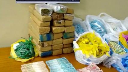 Polícia Militar apreende mais de 30 quilos de drogas em condomínio de Itaquaquecetuba