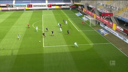 Melhores momentos: Paderborn 1 x 1 Hoffenheim pelo Campeonato Alemão
