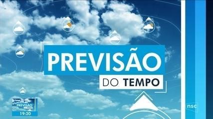 Previsão do tempo para domingo é de temperaturas baixas em SC - Santa Catarina - G1
