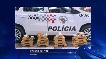 Três pessoas são presas por tráfico de drogas em Ourinhos e Bauru