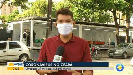 Confira a situação do coronavírus no estado do Ceará