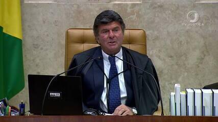 Luiz Fux sobre inquérito das 'fake news': 'Vigilante contra qualquer forma de agressão'