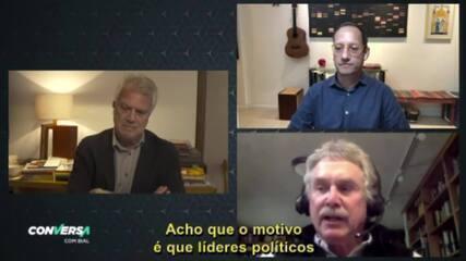 David Quammen e Stevens Rehen são os convidados do 'Conversa' no dia 28/5.