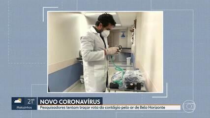 Pesquisas desenvolvidas em MG estudam o novo coronavírus no ar e no esgoto
