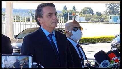 Vídeo: veja Bolsonaro falando sobre operação da PF contra fake news
