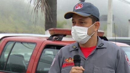 Número de atendimentos de fogo em mata cresce no Alto Tietê