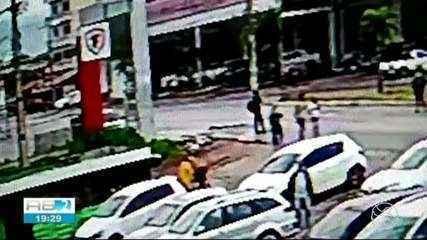 Imagens mostram como o crime aconteceu