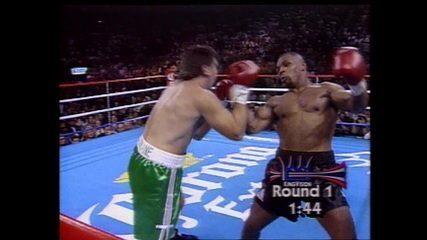 Em 1995, Mike Tyson nocauteia Peter McNeeley