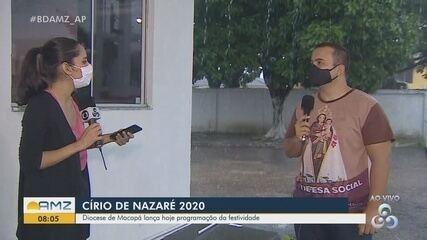 Diocese de Macapá lança hoje programação do Círio de Nazaré 2020