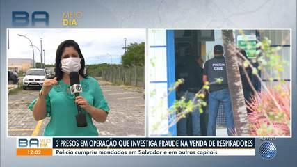 Polícia Civil faz operação contra empresa que vendeu respiradores ao Consórcio Nordeste