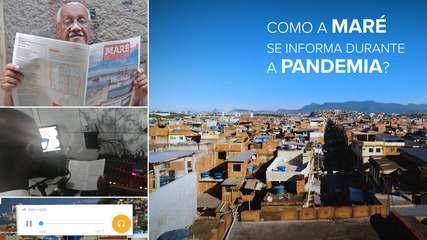 Moradores da Maré têm podcast, jornal e rádio para se informar sobre a pandemia