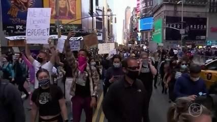 Manifestações antirracistas continuam nos EUA e Trump ameaça usar tropas militares